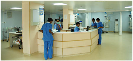 Global Hospital, Bangalore in India