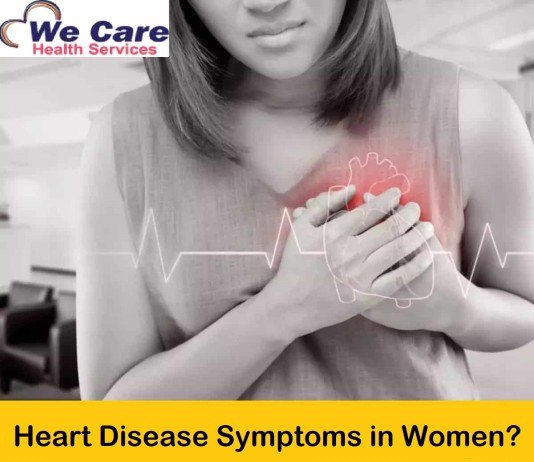 Heart Disease Symptoms in Women