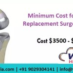 knee replacement surgery cost india