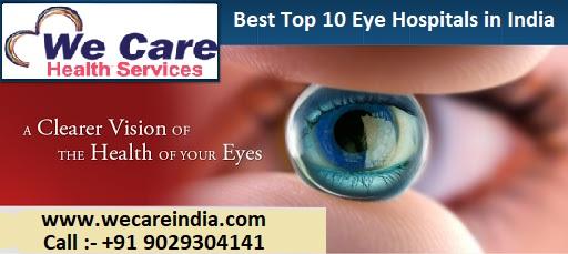 top 10 eye hospital in india